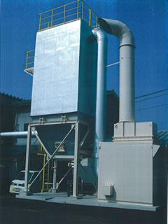 防音対策型集塵機 事例