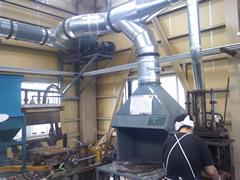 鋳造用集塵機
