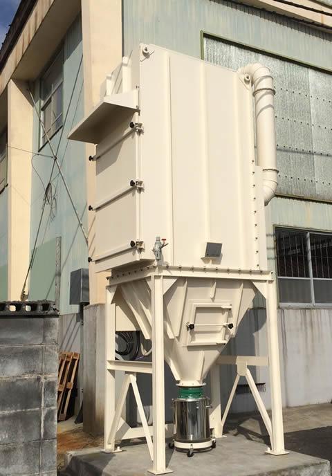 ルーター加工機集塵装置