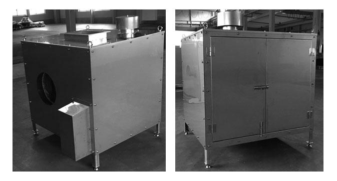 排風機防音室施工事例