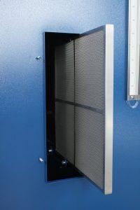 グラインダー仕上げ用集塵機製作事例