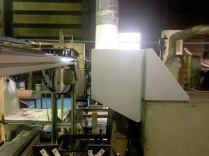 熱処理工程における乾燥炉の局所排気装置