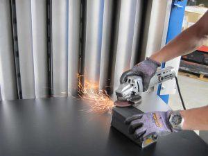 グラインダー仕上げ用集塵機