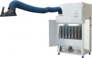 溶接ヒューム対応 グラインダー集塵機